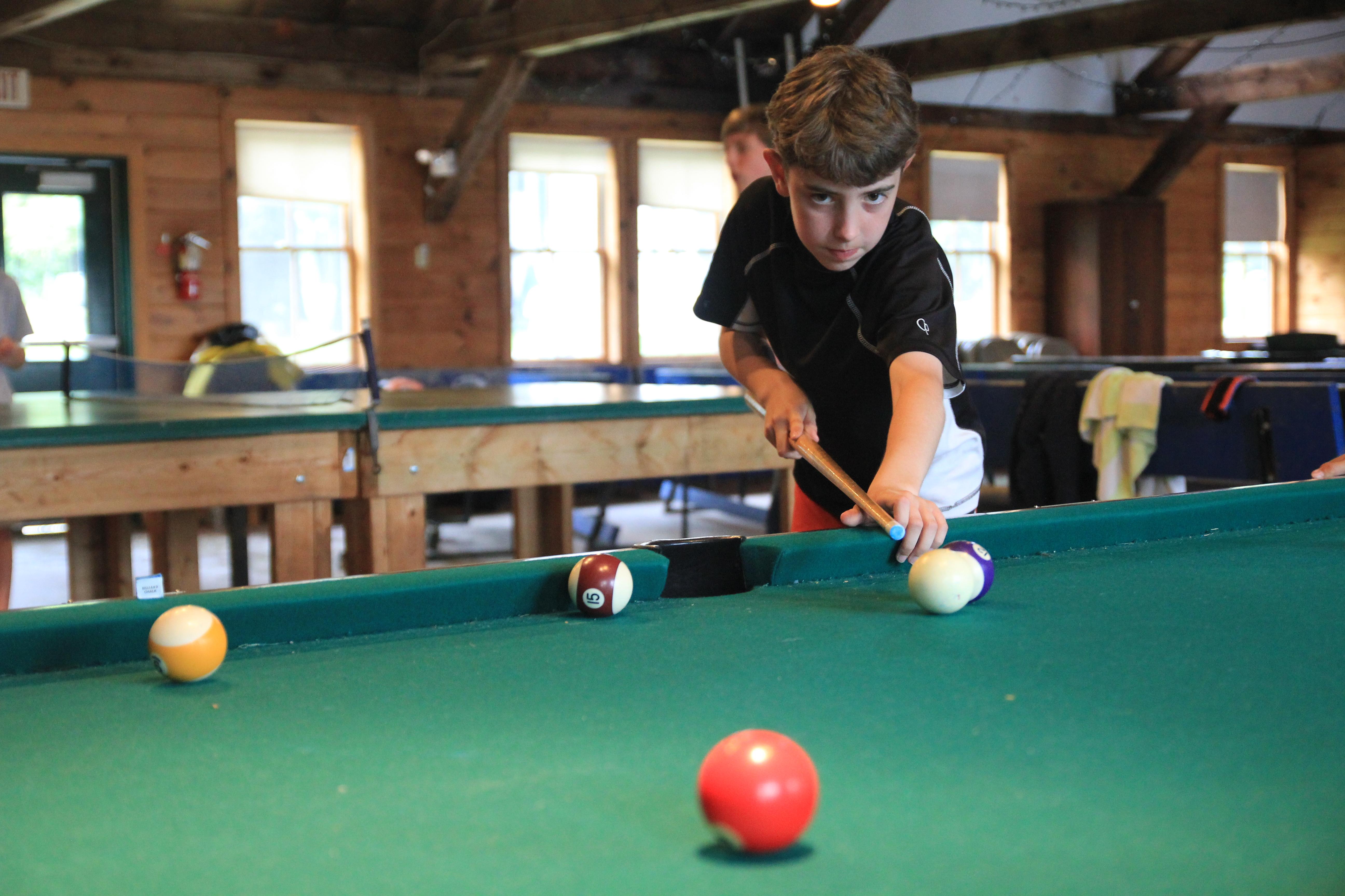 Summer Blog Page - Kickball pool table